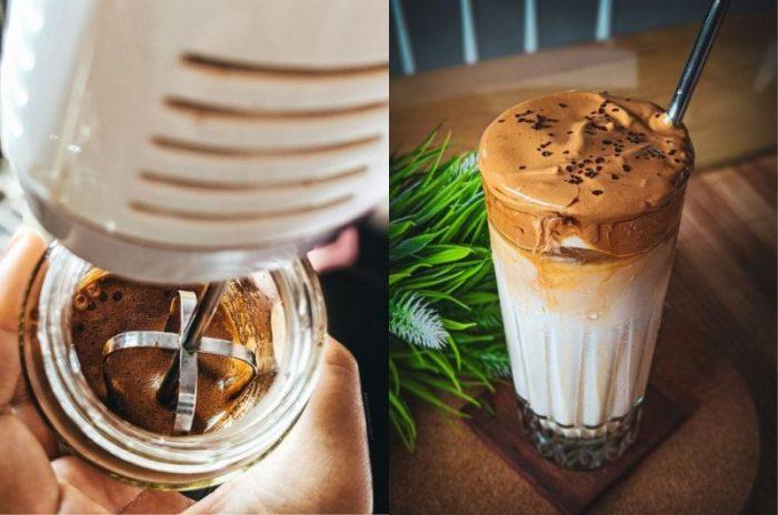 Coffee Dalgona trend gây bão xứ Hàn và giới trẻ Việt không ngờ pha chế dễ dàng thế