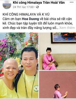 Khí công Himalaya và căn bệnh ung thư Vú