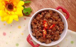 2 cách làm mắm ruốc xào thịt cho bữa cơm thêm ngon
