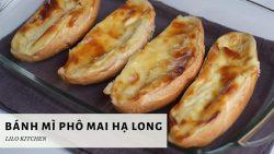 Bánh mì phomai Hạ Long làm siêu dễ bằng nồi chiên không dầu