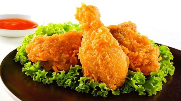 Làm gà rán KFC theo công thức Keto bằng nồi chiên không dầu