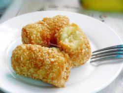 Bánh chuối yến mạch cực ngon cho bé lười ăn