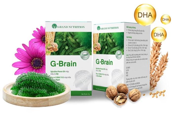 Có nên sử dụng Cốm hỗ trợ phát triển trí não G-Brain cho bé?